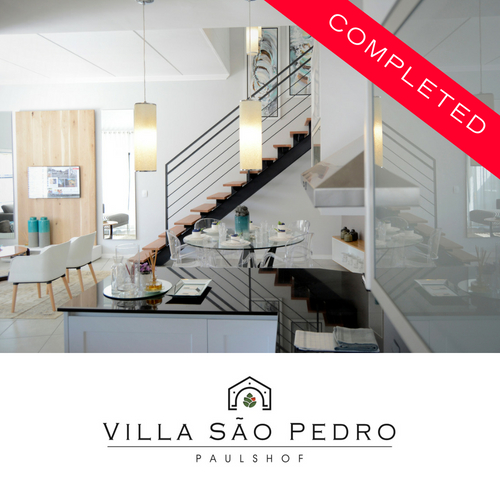 Villa Sao Pedro - completed development