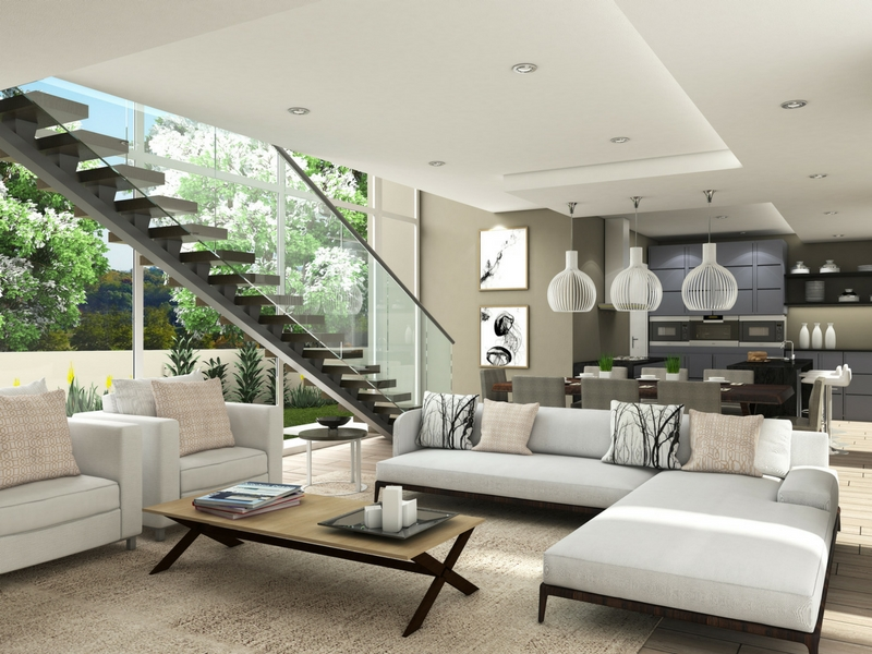 Origins homes within Eye of Africa Golf Estate -living area