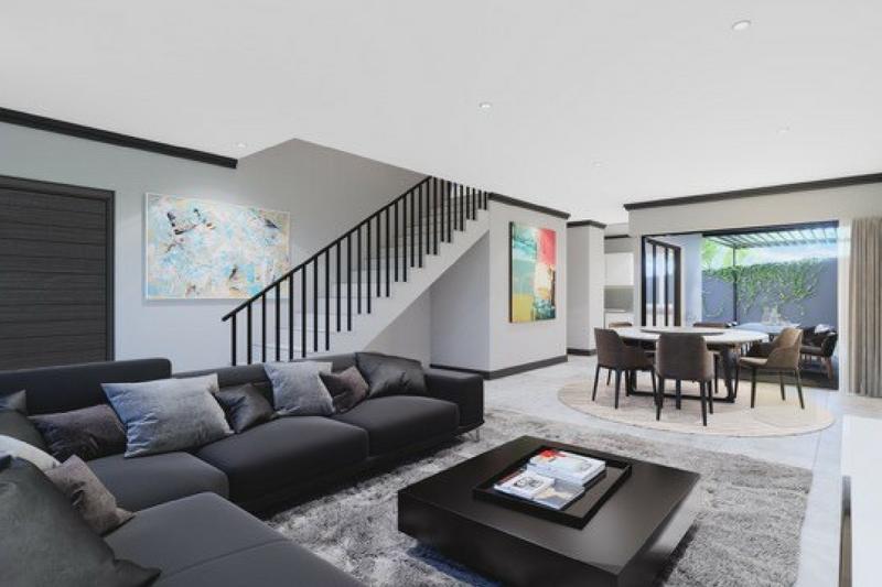 The Hudson- Living Area 4