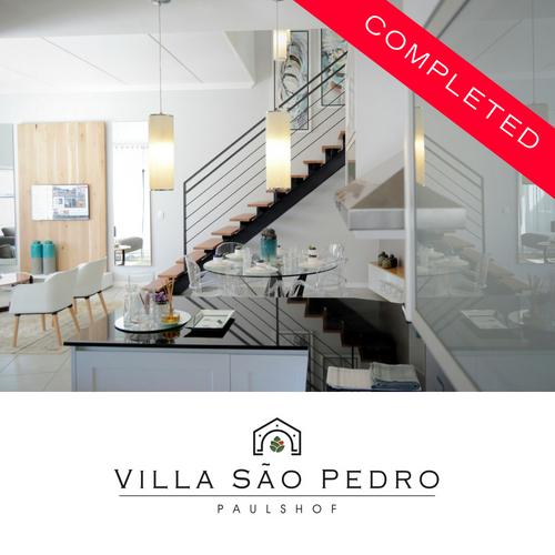 Villa Sao Pedro - completed development