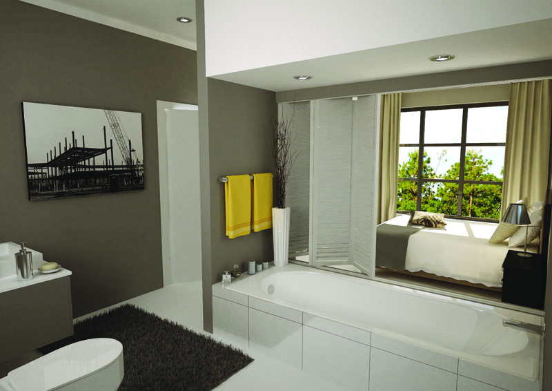 The Foundry 1 Bedroom 3D Render