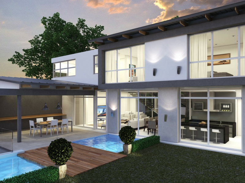 Origins homes within Eye of Africa Golf Estate - exterior