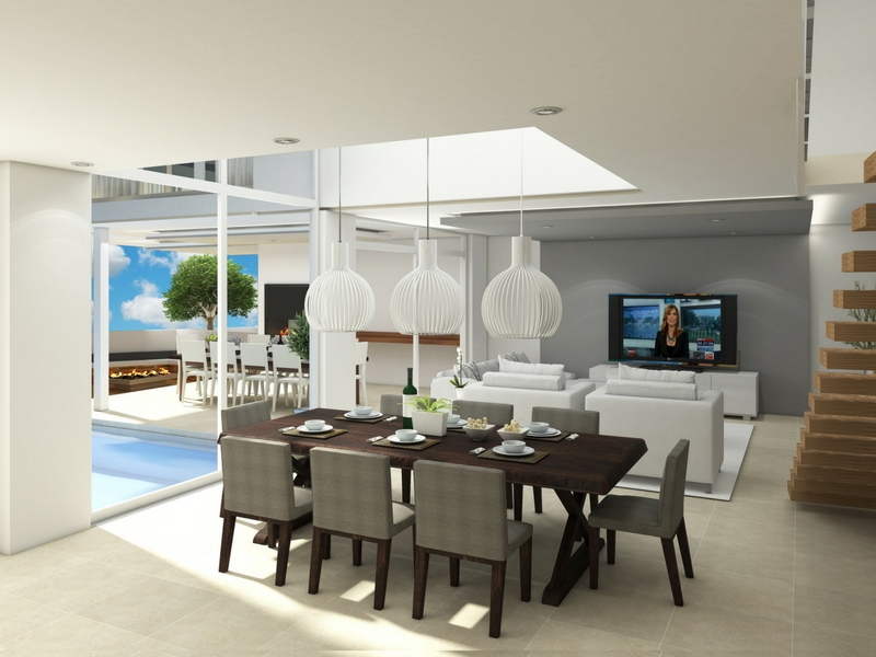 Origins homes within Eye of Africa Golf Estate - Dining Area