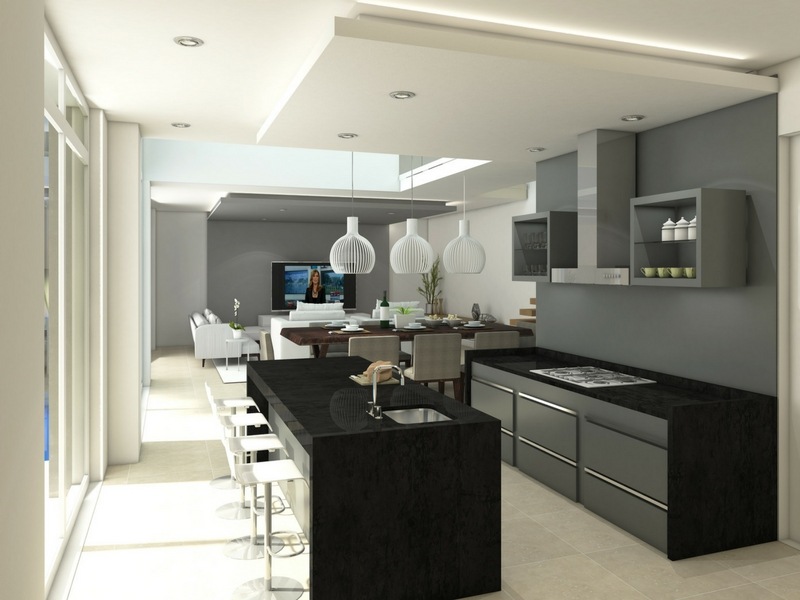 Origins homes within Eye of Africa Golf Estate - Kitchen
